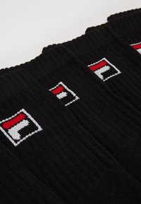 Fila - 6 PACK - Socks - black - 1