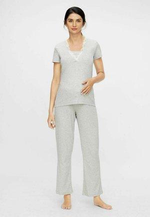 SET - Pyjama - light grey melange
