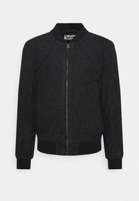 Schott - Leather jacket - navy - 5