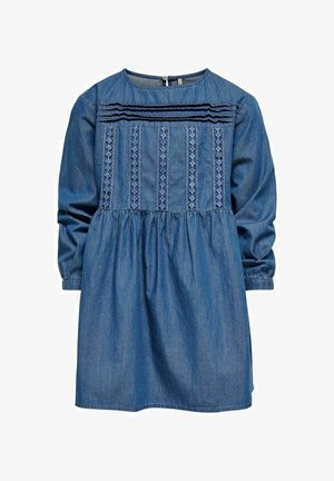 Denim dress - faded denim