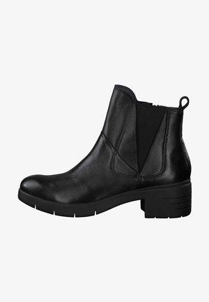 Korte laarzen - black antic 002