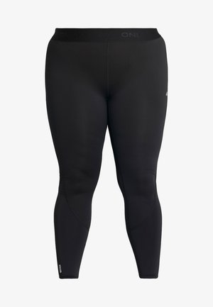 ONPGILL TRAINING CURVY OPUS - Legginsy - black