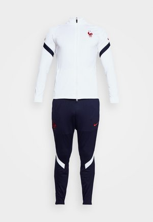 FRANKREICH FFF DRY SUIT SET - Equipación de selecciones - white/blackened blue/university red
