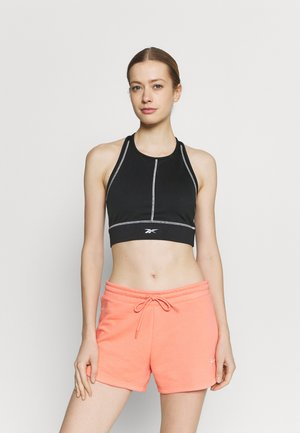 WOR DETAIL BRALETTE - Light support sports bra - black