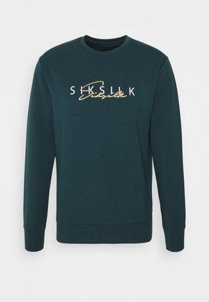 Sweatshirt - ocean green