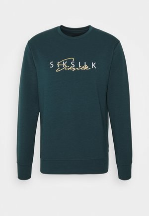Sweater - ocean green