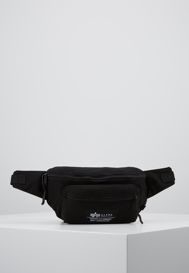 Alpha Industries - BIG WAIST BAG - Bum bag - black