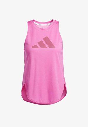 BADGE OF SPORT - T-shirt print - pink