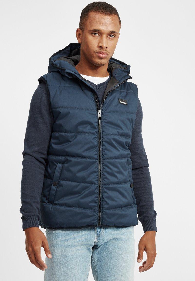 Solid - ATSU - Waistcoat - insignia blue