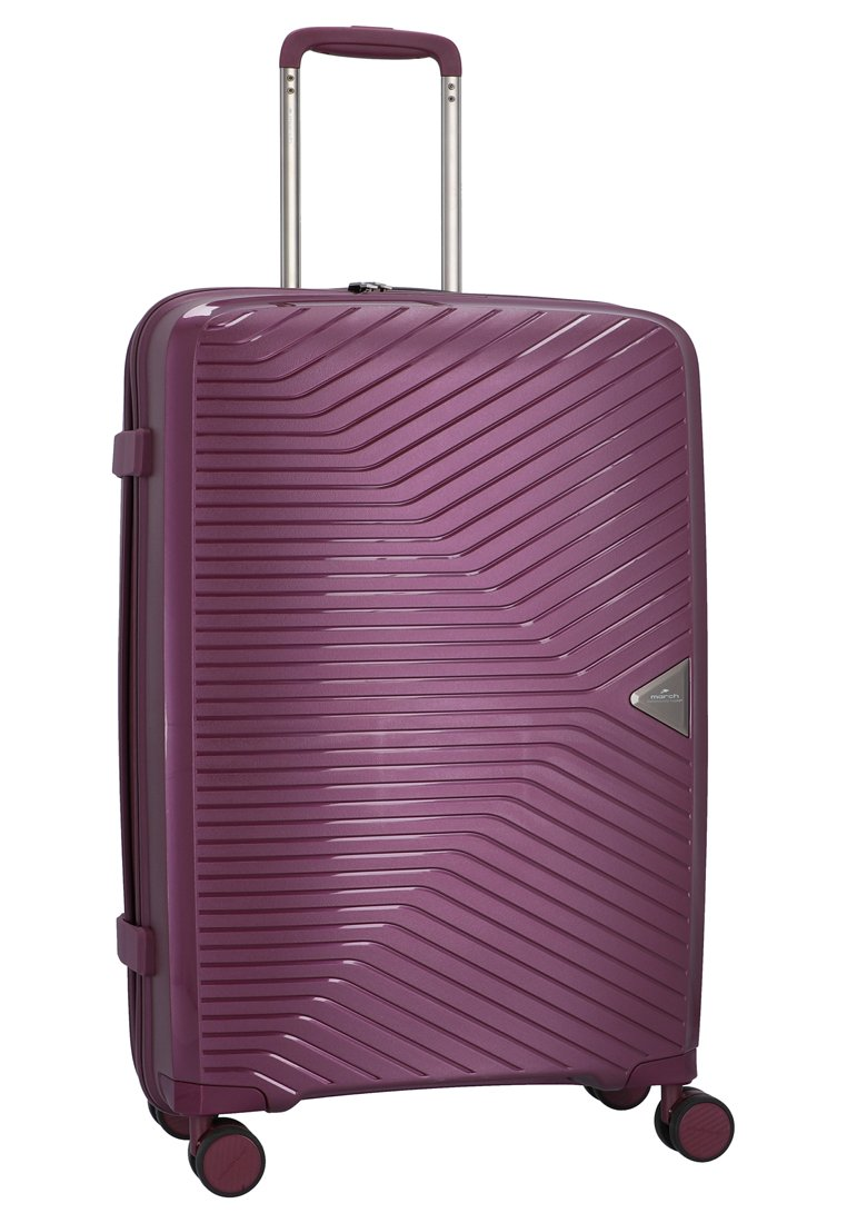 march luggage 3 PIECES - Kofferset - purple/lila - Herrentaschen de6hR