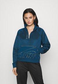 Nike Sportswear - Mikina - valerian blue/deep ocean/metallic gold - 0