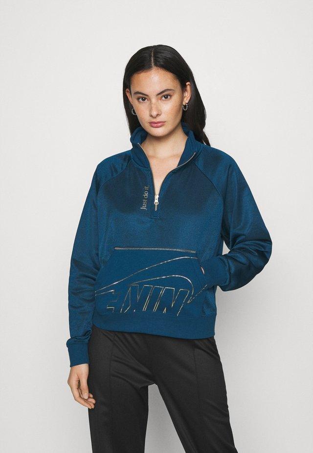 Sweatshirt - valerian blue/deep ocean/metallic gold