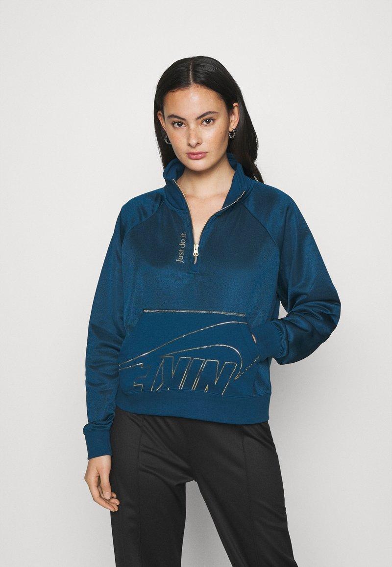 Nike Sportswear - Mikina - valerian blue/deep ocean/metallic gold