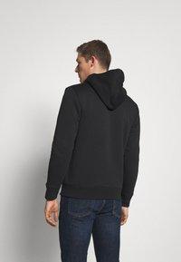 GAP - V LOGO SHERPA - Zip-up hoodie - true black - 2