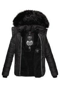 Navahoo - ZUCKERBIENE - Winter jacket - black - 5