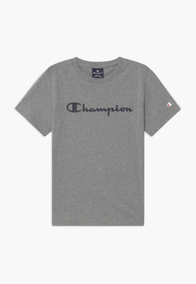 LEGACY AMERICAN CLASSICS CREWNECK - T-shirt med print - mottled grey