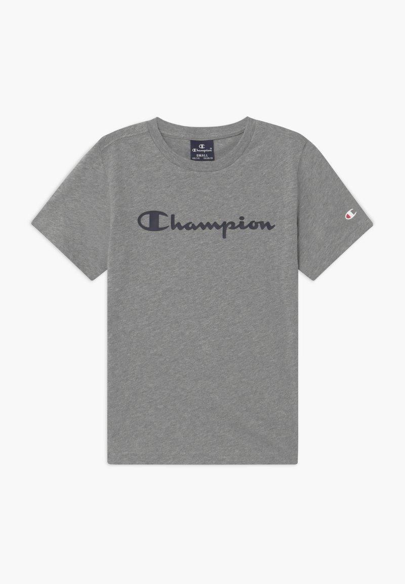 Champion - LEGACY AMERICAN CLASSICS CREWNECK - Triko spotiskem - mottled grey