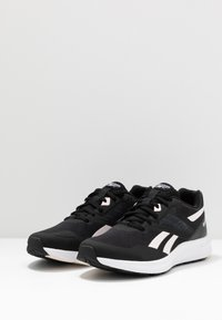Reebok - RUNNER 4.0 - Neutral running shoes - black/glass pink/white - 2