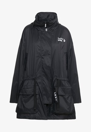 THE WAIST COAT POCKETS - Abrigo corto - black