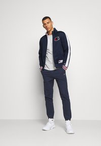 Champion - ROCHESTER RETRO BASKET FULL ZIP - Träningsjacka - dark blue/white - 1