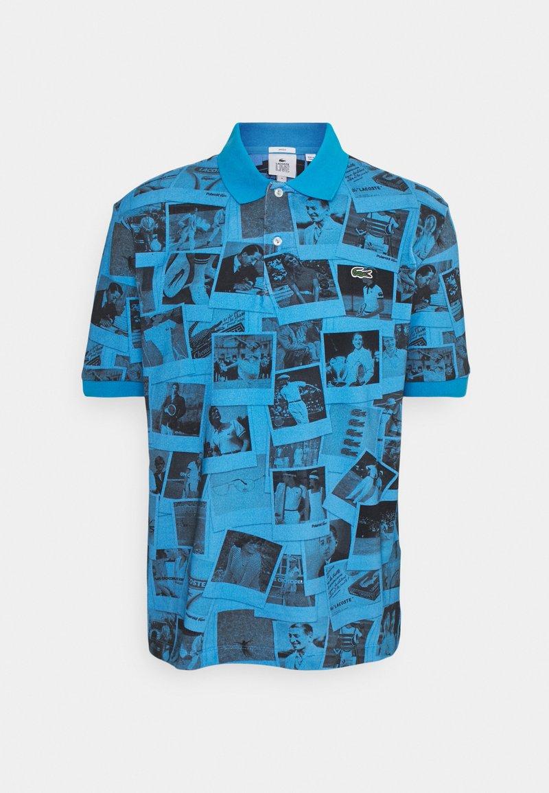 Lacoste LIVE - UNISEX - Polo shirt - blue/black