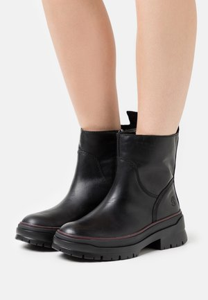 MALYNN SIDE ZIP WP - Winter boots - black
