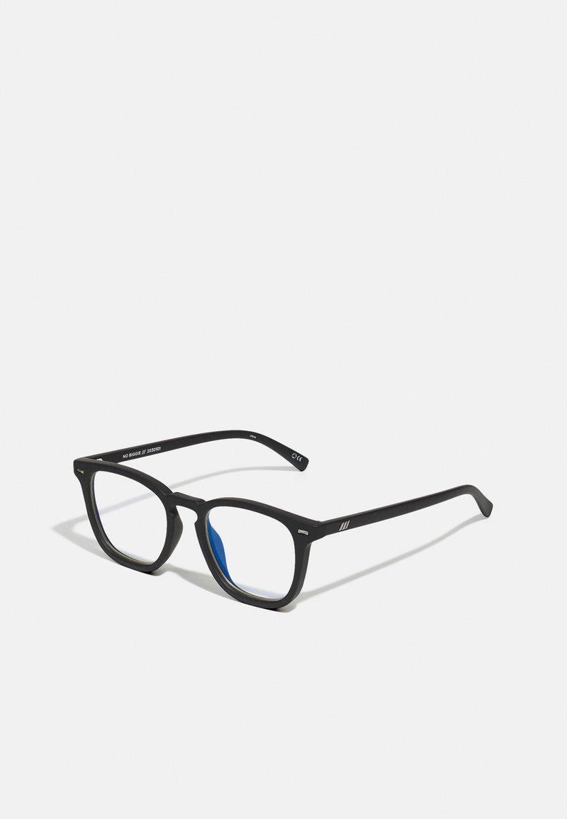 Le Specs - BLUE LIGHT NO BIGGIE  - Zonnebril - matte black