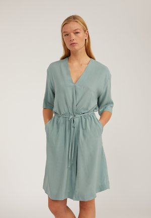 RAUHAA - Day dress - eucalyptus green