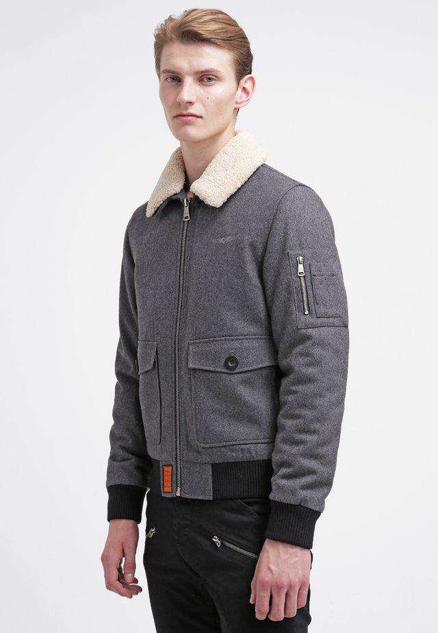 Winterjas - gris