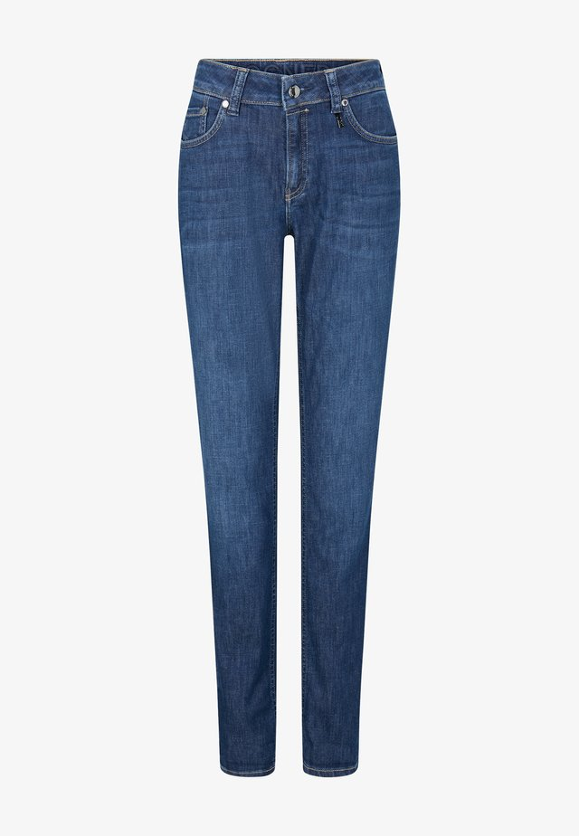 Džíny Slim Fit - washed denim blue