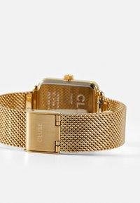 Cluse - LA TETRAGONE - Watch - gold-coloured/white - 1