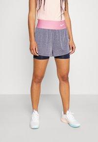 Nike Performance - SHORT - Sports shorts - obsidian/white - 0