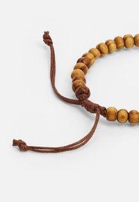 ALDO - JOASH 4 PACK - Bracelet - brown/black - 1