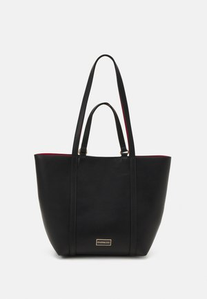 Tote bag - black/red