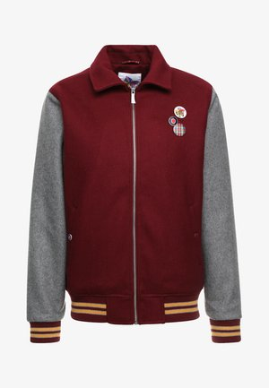 TEDDY - Bomber Jacket - bordeaux