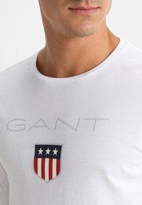 GANT - SHIELD - Long sleeved top - white - 4