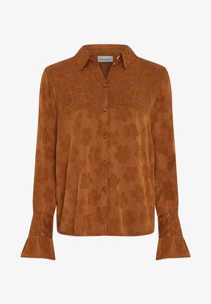 PHILIA TESS  - Overhemdblouse - cognac