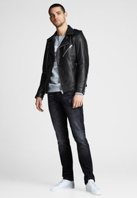 Royal Denim Division by Jack & Jones - Leather jacket - black - 1