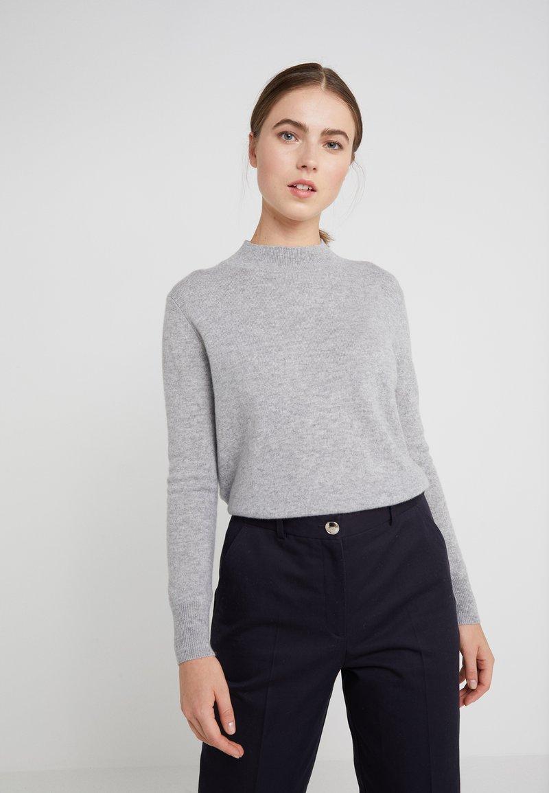 pure cashmere - MOCKNECK  - Jumper - light grey