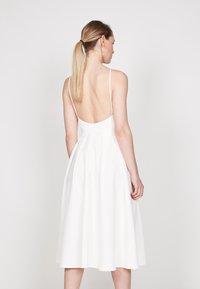 True Violet - STRAPPY SKATER - Day dress - off white - 1