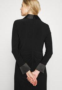 Adrianna Papell - TWIST TUXEDO GOWN - Jersey dress - black - 3