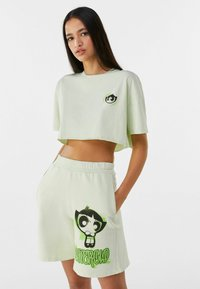 Bershka - POWERPUFF GIRLS - Short - green - 3