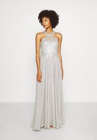 Luxuar Fashion - Vestido de fiesta - silbergrau - 0