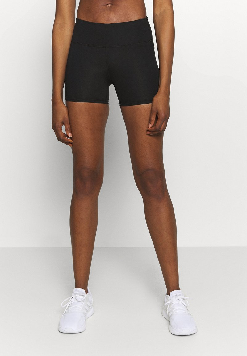 Cotton On Body - HIGHWAISTED SHORTIE SHORT - Leggings - core black