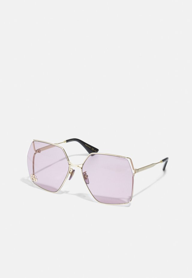 Gafas de sol - gold-coloured/violet