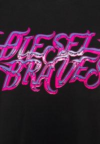 Diesel - SILY - Print T-shirt - black - 2