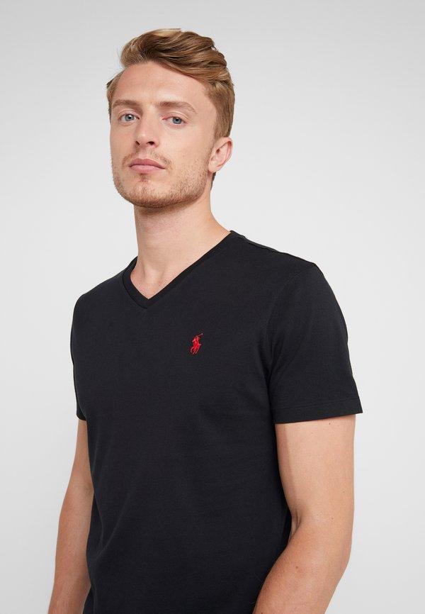 Polo Ralph Lauren T-shirt basic - black/czarny Odzież Męska EZEL