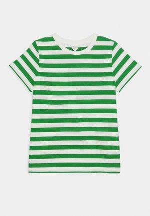 T-Shirt - Triko spotiskem - green/white
