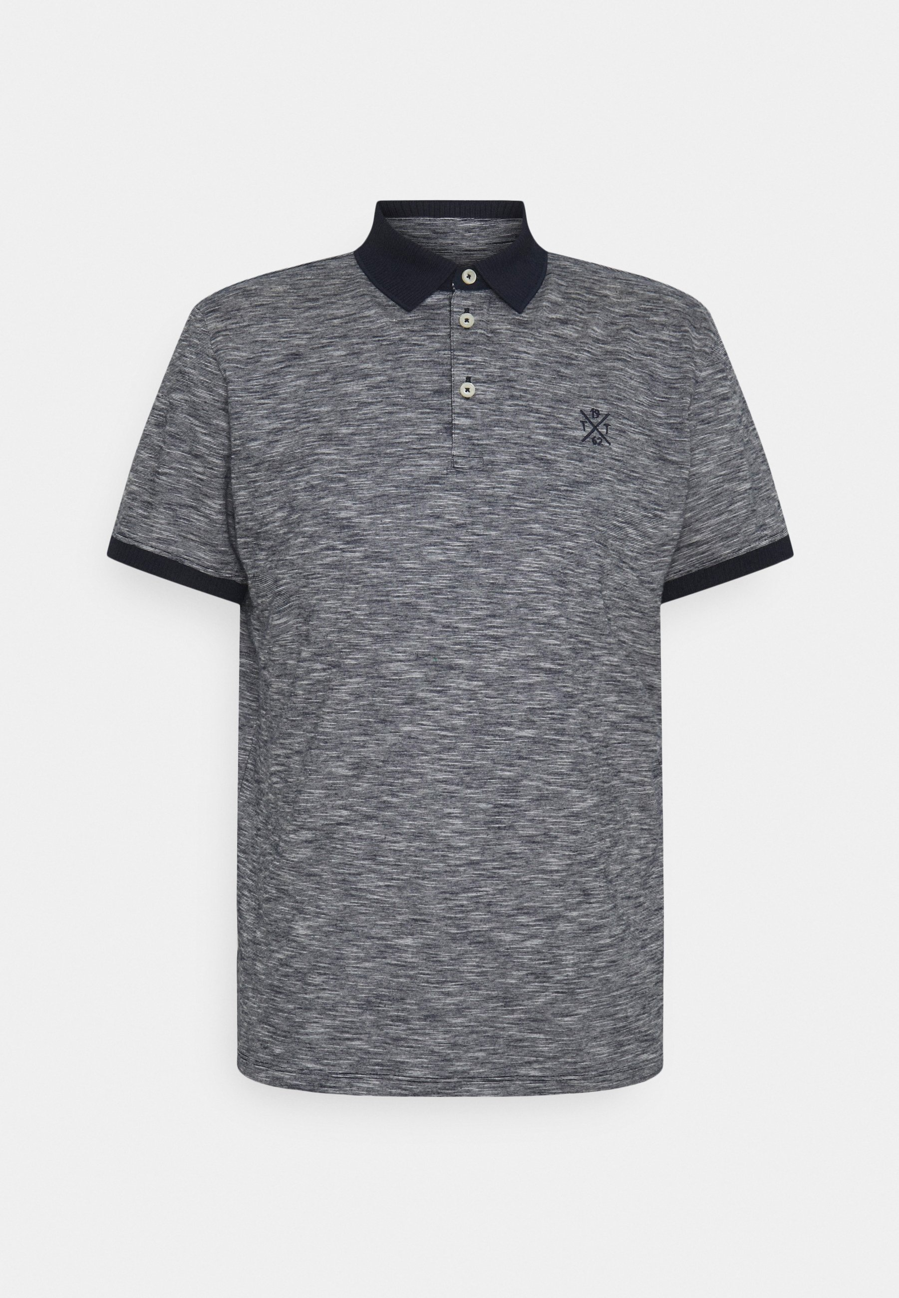 Men FINE STRIPED WITH DETAILS - Polo shirt