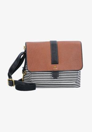 KINLEY  - Across body bag - black stripe